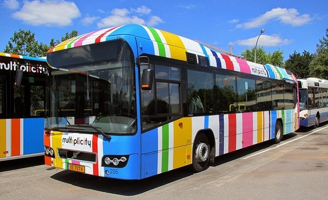 Volvo Receives Five Hybrid Bus Order from Luxembourg