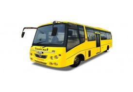 SML ISUZU Semi Low Floor School Bus