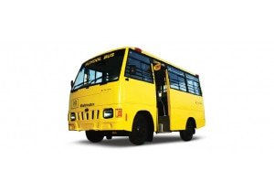 Mahindra Tourister School Bus Pictures
