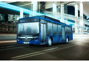 Tata Starbus EV 4 12 Low Entry Electric Bus Pictures