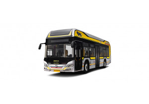 Tata Starbus Hybrid Low Floor Pictures