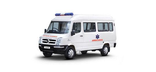 Force Traveller Ambulance